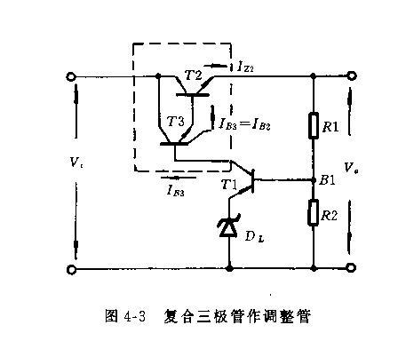 过流保护电路 串联式稳压电路过载(特别是输出端短路的情况下,输人的